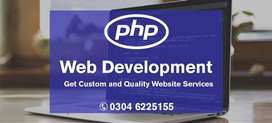 PHP Website Development Get For Your Business Now