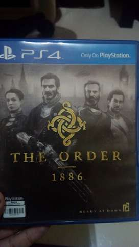 Kaset ps4 the order 1886