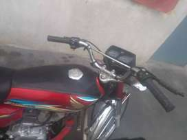 I seeling honda 125 due to need for money condition 10/10 model 2019