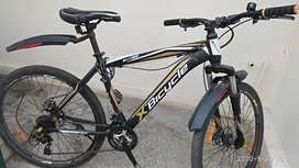 X bicycle imported, with 21 gear 8 months old
