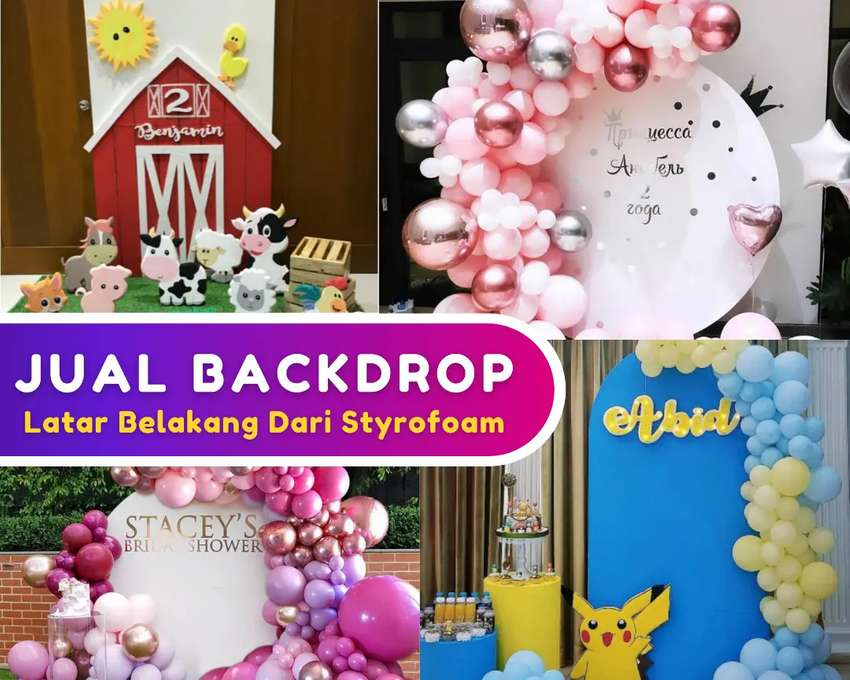 Jual Backdrop Styrofoam Dekorasi