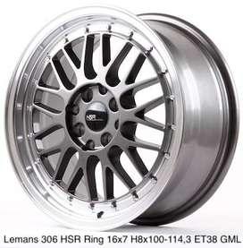 velg mobil LEMANS 306 HSR R16X7 H8X100-114,3 ET38 GREY-ML