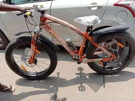 fat bike in new condition