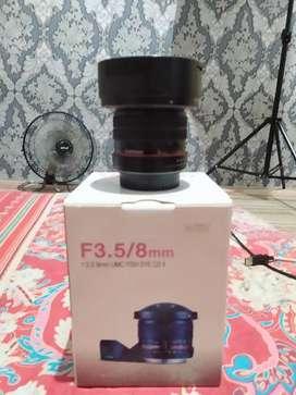 Samyang 8mm Fish Eye Canon