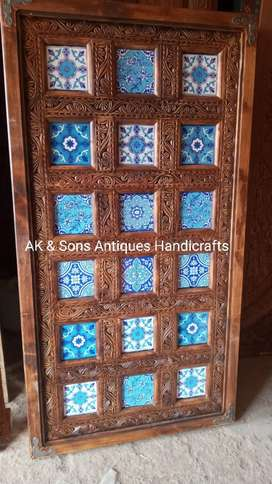 Dinning small table 3x6 size in Handicraft Swati  tiles design