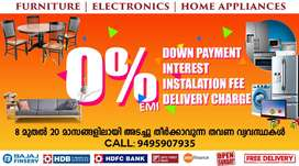 Furniture & Electronics 0% EMI in NELLIMMOODU with Free Delivery