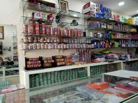 Rented shop with running business
