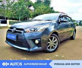 [OLX Autos] Toyota Yaris 2016 G 1.5 Bensin A/T Abu-Abu