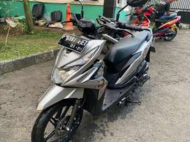 Honda Beat Street 2020 Plat F Kab Mulus Full Original Gan,