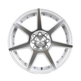 pelk ford fiesta HSR Ne7 JD5339 Ring 16x7 H8x100-1143 ET40 Silver