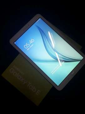 samsung TAB E with box excellent condition