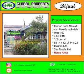 Dijual Rumah Tengah Kota Banget Daerah Riau Murah