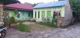 4 bedeng rumah luas tanah 17 × 12