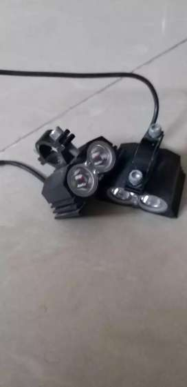 Hjg led light for bike rs.700