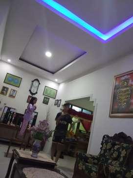 Melayani plafon gipsum dan PVC