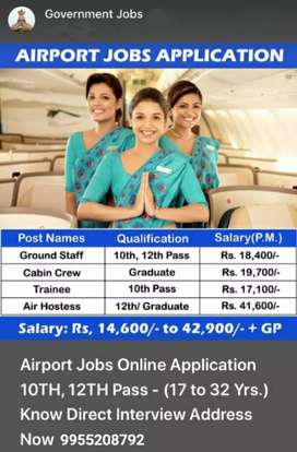 Job vacancy International Airport