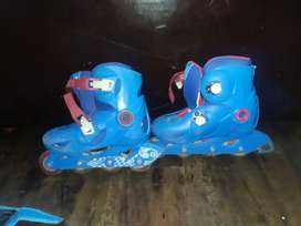 oxelo Scate with body sporters