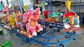 promo odong kereta panggung animal fiber DCN