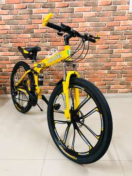 Foldable Cycle with 21 Speed Gears + EMI/ FINANCE AVAILABLE