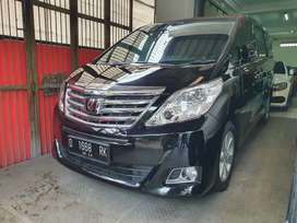 Alphard G 2012 at pilot sit - full original - antik