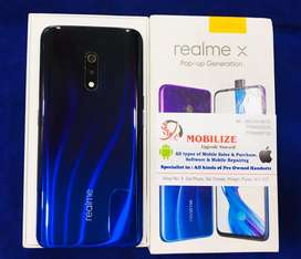 Realme X Blue 4/128GB Only 2 Months Used In Brand New Condition.