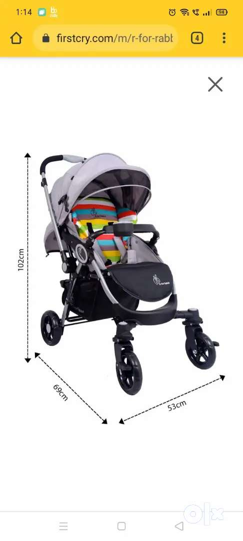 Baby Stroller and Pram. Price negotiable.