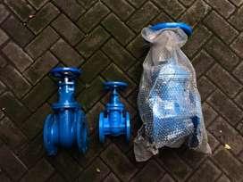 Jual gate valve BARU berbagai merek, pintu air berkualitas