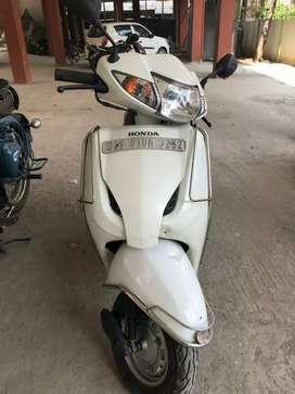 Activa white colour