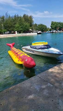 Jual Cepat banana boat dan sofa boat satu paket