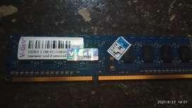 RAM Memory VGEN DDR3 1GB PC1060