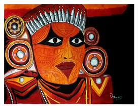 Theyyam painting