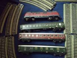 Vintage Train Made In Germany By Marklin 3 Rail