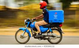 Part time job for Delivery boy