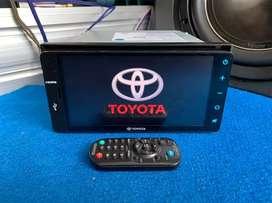 Headunit Ori Toyota suport mirrorlink wifi