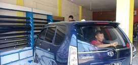 Kaca Film Optilux black standar mobil gedung rumah