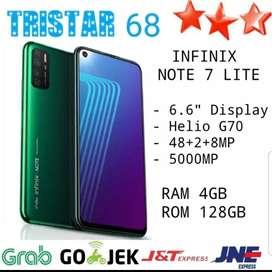 Infinix Note 7 Lite 4/128 Resmi