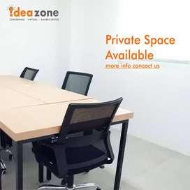 Disewakan Private Office Tengah Kota Jogjakarta, Bayar Bulanan