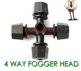 4 way fogger head kepala sprayer nozzle misting spray