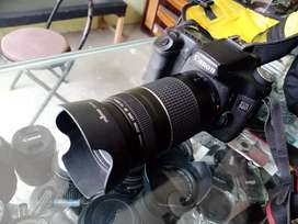 Canon 50D with 75-300mm full bluring lens