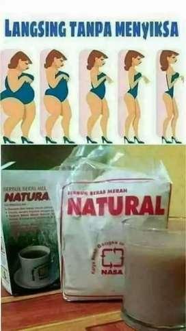 Diet sehat,diet ketat,bikin selalu kenyang serbuk beras merah Solusi