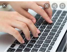 Ms word typing jobs home based Easy to do english typing
