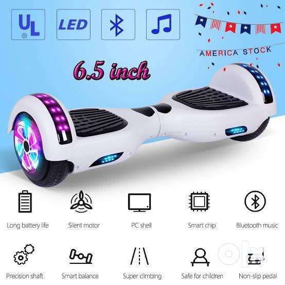 """Brand New 6.5"""" Hoverboard Segway with LED lights 0"""