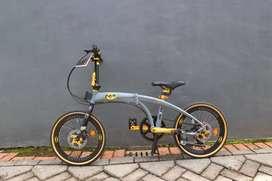 Sepeda Lipat Pacific Noris Batman Ring 20
