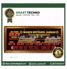 Grosir Jam Digital Masjid Mewah Gold Premium