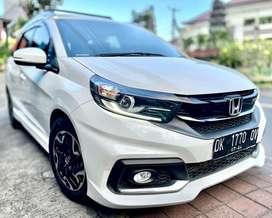 [Lulus Inspeksi] Honda Mobilio RS CVT facelift 2019 automatic putih