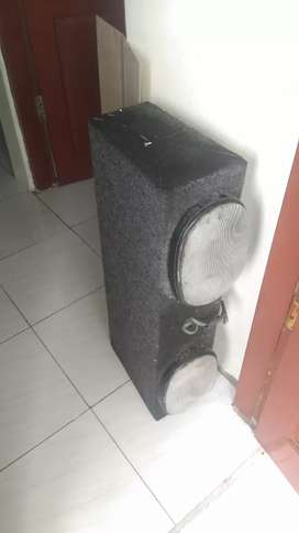 Jual Murah Subwoofer + Amplifer 4 Chanel 8000watt