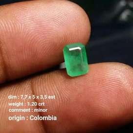 Jamrud colombia hijau lampu stopan