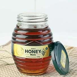Dijual madu murni kemasan 500 gr
