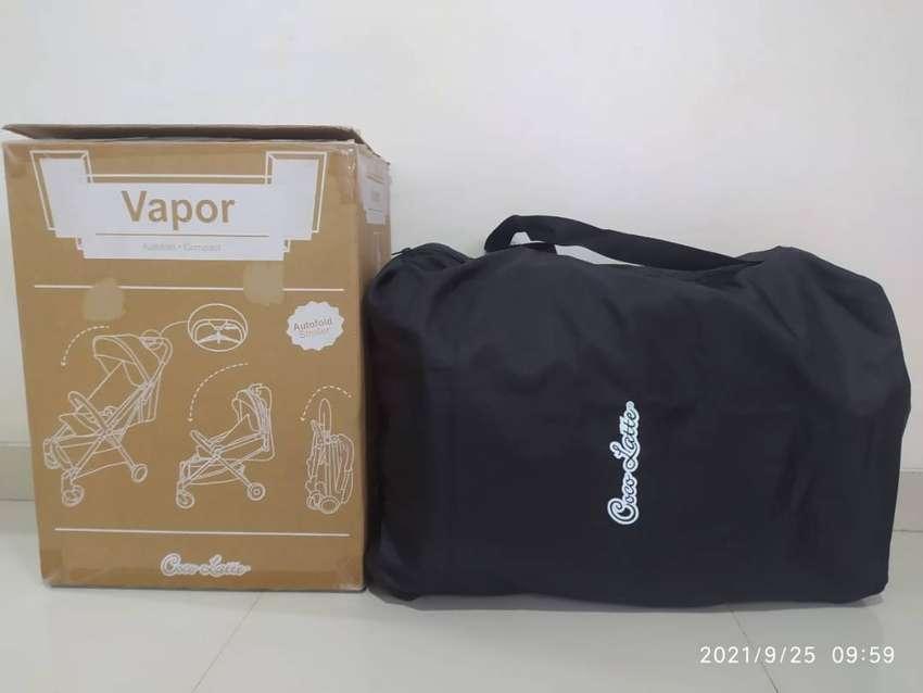 Dijual Stroller Cabin Size Cocolatte Vapor CL7045