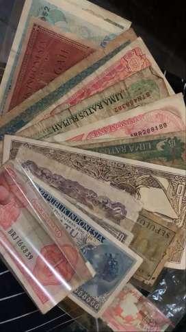 Uang kuno indonesia (berbagai macam)